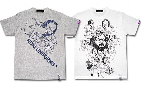 D[di:]×ROKIUNIFORMSスタンリー・キューブリックTシャツTOP