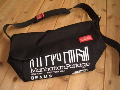 manhattanportage×BEAMS Messenger Bags