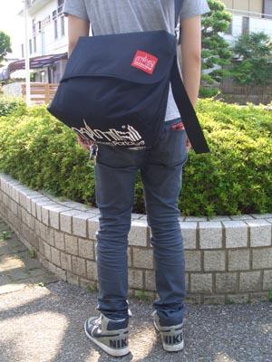 マンハッタンポ−テージ×ビームス別注メッセンジャーバッグ