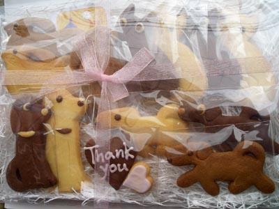 市川市のお菓子屋さんhana(ハナ)のクッキー