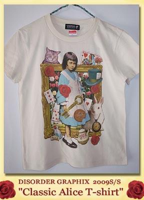 不思議の国のアリスTシャツ