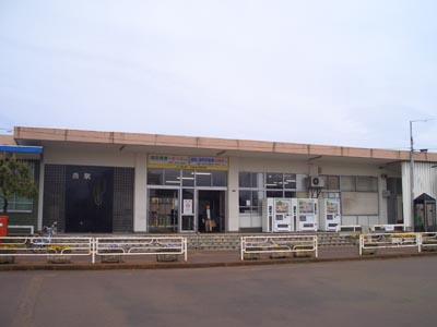 新潟県のJR燕駅