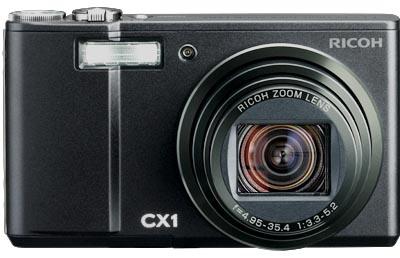 デジカメリコーcx1