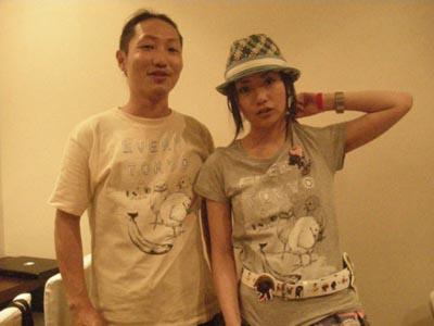 「EVERY TOKYO」ユウさんとアーティストのD[di:]さん