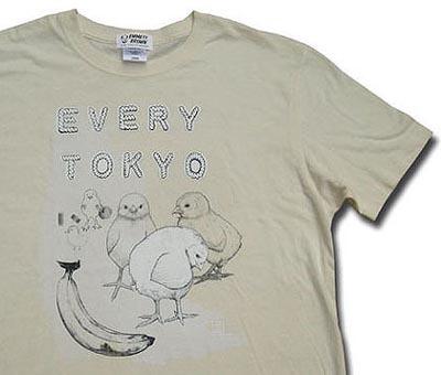 D[di:]さんデザインの「EVERY TOKYO」Tシャツ
