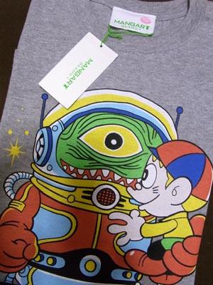 マンガートBEAMSの怪物くんTシャツ