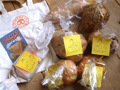 赤坂ベッカーズディライトのパン