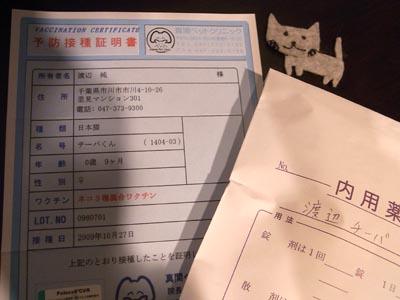 JETLINKの猫チーバくん3