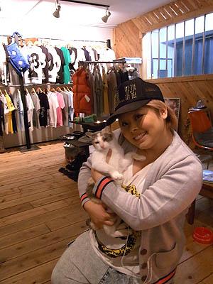 JETLINKに来店した渡辺直美さん