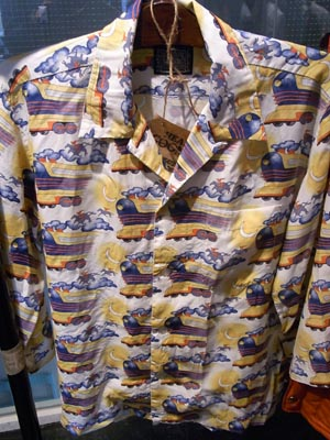 バック・トゥ・ザ・フューチャーのドクのアロハシャツ