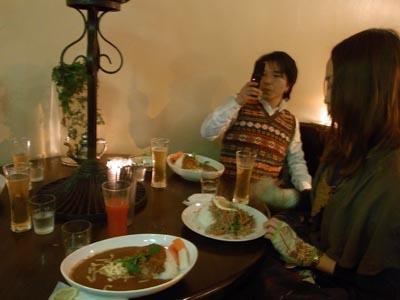 渋谷のザリガニカフェ