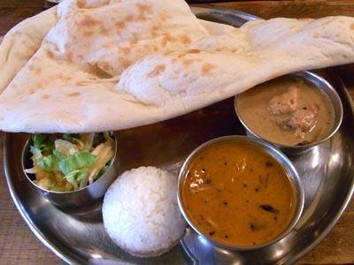 千葉県市川市インドカレー料理サプナ