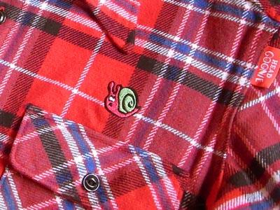 HEADGOONIE新作ネルシャツ2