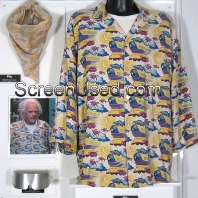 『バック・トゥ・ザ・フューチャー』ドクのアロハシャツ