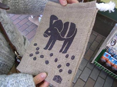 かっぱ橋コーヒー専門店 「(株)ユニオン」の袋