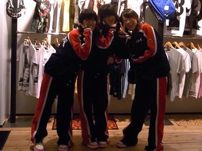 和洋女子高校ダンス部の皆さん