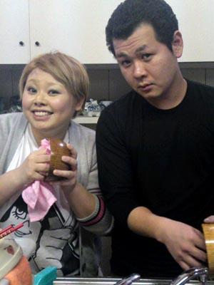 渡辺直美さんとザ・パンチの人