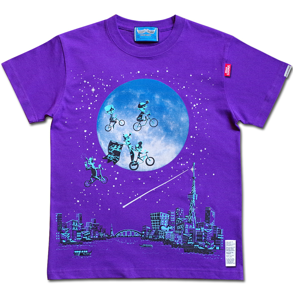 OVER THE MOON Tシャツ