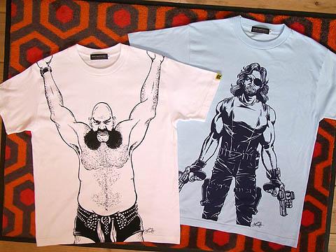 映画ニューヨーク1997オックス・ベーカーTシャツ&スネーク・プリスキンTシャツ
