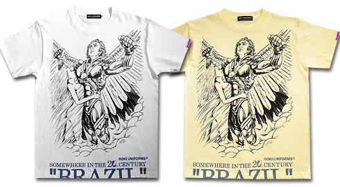 """映画未来世紀ブラジル""""BRAZIL""""Tシャツ"""