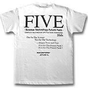 """FIVE""Tシャツup9"