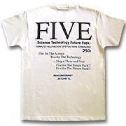"""FIVE""Tシャツup4"