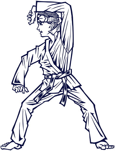"""THE KARATE""Kidsイラスト"