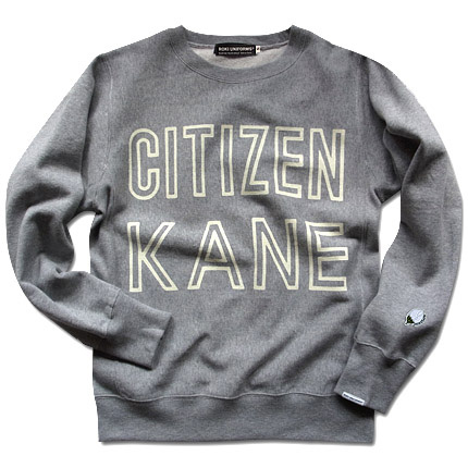 """CITIZEN KANE"" SWEAT SHIRTS1"