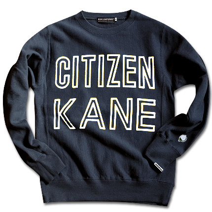 """CITIZEN KANE"" SWEAT SHIRTS2"