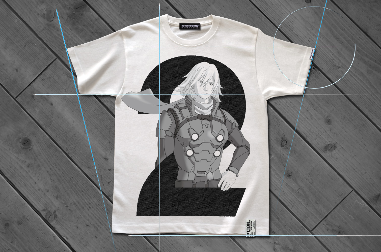 CYBORG009 CALL OF JUSTICE/002ジェット・リンクTシャツup3