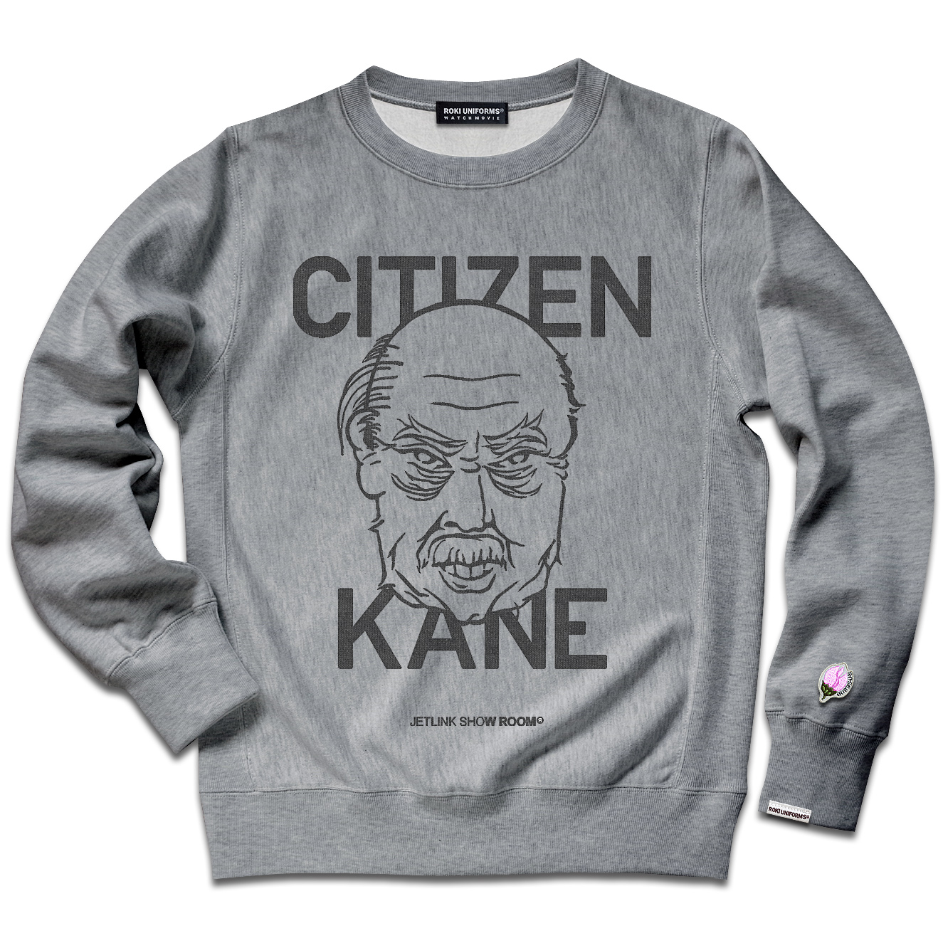 CITIZEN KANE THE REBEL FACE SWEAT SHIRTS