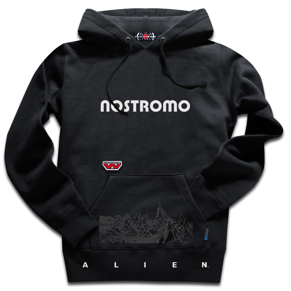 ALIEN THE NOSTROMO LV-426 HOODY